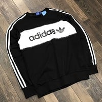 ADIDAS Woman Men Fashion Top Sweater Pullover