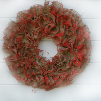 Halloween wreath, orange  burlap, door wreath, front door decor, wreaths, Fall wreath, decor, halloween decor, autumn wreath,  fall weddings