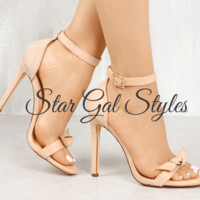 Bow Intentions Nude Single Sole Heel