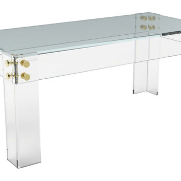 Cap Ferrat Coffee Table, Small, Acrylic / Lucite,