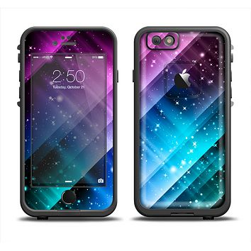 The Neon Glow Paint Apple iPhone 6 LifeProof Fre Case Skin Set