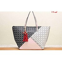 CH Fashion Lady Printed and Coloured Shopping Bag Single Shoulder Bag