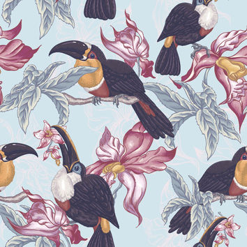 Toucan Sams Removable Wallpaper Decal