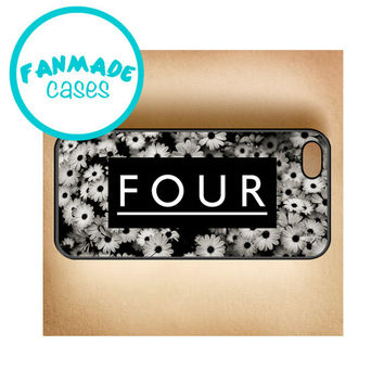 Four Daisies iPhone 4/4s/5/5s/5c/6/6 Plus, iPod 4/5, Samsung Galaxy s3/s4/s5 Rubber Case by FanMadeCases