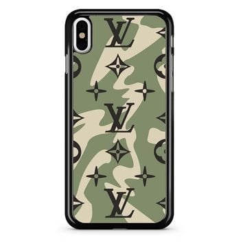 Lv Camo iPhone X Case