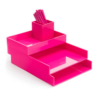 Pink Desktop Set