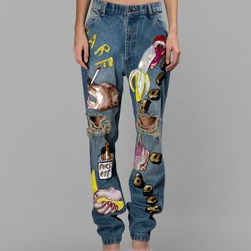 ASHISH - Jeans NEW COLLECTION SS15
