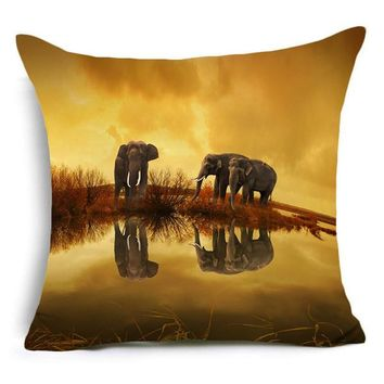 Cute Animal Pillow Cover