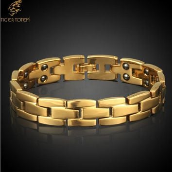 European  American Styles Copper Magnetic Bracelets New Fashion Jewelry Cupper hot popular Men's Bangles Free Shipping 30003