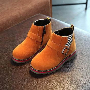 Autumn Winter children casual shoes kids cotton keep warm martin boots boys girls sneakers baby shoes male female snow boots