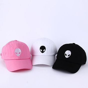 2017 Hot Sales Dad Hat Outstar Saucer Space E.TUFO Fans Black Fabric Baseball Cap Hip Hop Snapback Hat for Men Women Fashion New
