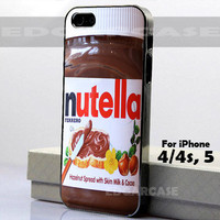 Nutella - Photo on Hard Cover - For iPhone Case ( Select An Option )