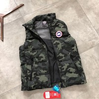 Canada goose winter fashion Camouflage vest