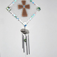 Sun Catcher with Wind Chime
