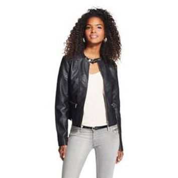 Women's Faux Leather Jacket - Xhilaration™ : Target