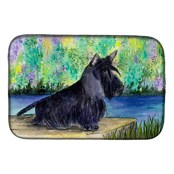 Scottish Terrier Dish Drying Mat SS8330DDM