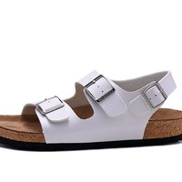 Men's and Women's BIRKENSTOCK sandals Milano Birko-Flor 632632288-123
