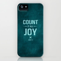 COUNT IT ALL JOY iPhone & iPod Case by Pocket Fuel