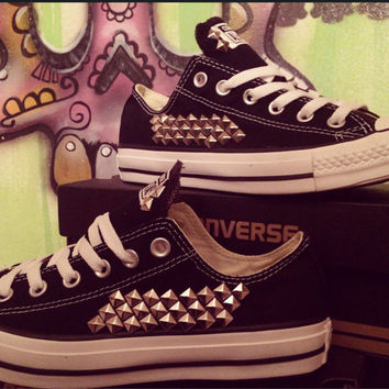Custom Studded Converse All Stars! - Chuck Taylor ALL SIZES & COLORS!!