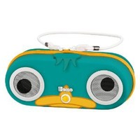 """Phineas and Ferb """"Agent P"""" Water Resistant Portable Stereo Portable Sport Case for iPod, Shuffle, MP3 players with built in remote, DF DF-M133"""
