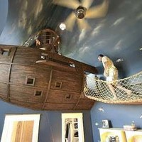 Swashbuckling Bedrooms - Most Incredible Pirate Ship Room