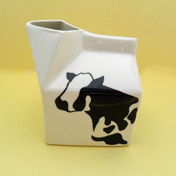 vintage cow creamer holsteins by margo by OldLikeUs on Etsy