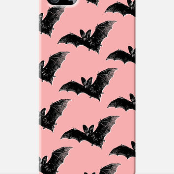 BAT iPhone 5 case, Goth Girl iphone 5 case, Vampire iPhone 5s case, pastel goth case, Gothic iPhone case, iphone 4s case, Grunge iPhone case
