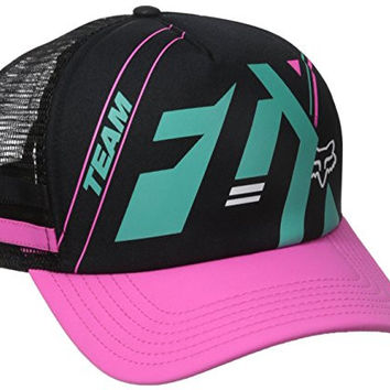Fox Junior's Division Trucker Hat, Fuchsia, One Size