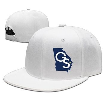 Georgia Southern Eagles GS Logo Map Cotton Unisex Adult Womens Baseball Hats Mens Hip-hop Hat