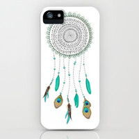 Dream Catcher iPhone & iPod Case by Abrian Sabo