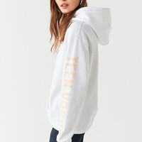 Teen Vogue + UO Change Agent Hoodie Sweatshirt | Urban Outfitters
