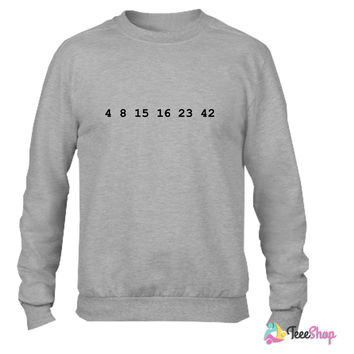 4 8 15 16 23 42 Lost Crewneck sweatshirtt