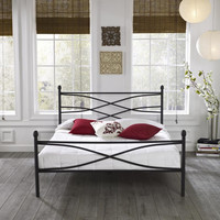 Luxury Home Rosalyn Metal Bed