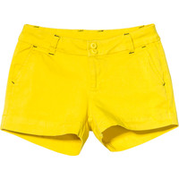 Kavu Yellow Catalina Cotton Short - Women's