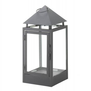 Black Matte Finish Contemporary Lanterns