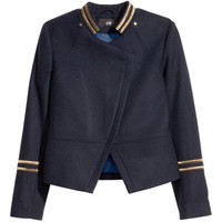 Wool-blend Jacket - from H&M
