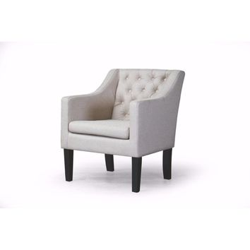 Brittany Club Chair By Baxton Studio