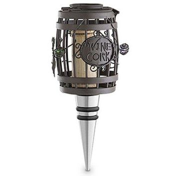 Epic Products Cork Cage Wine Barrel Bottle Stopper 5Inch