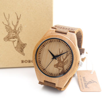 Men's Maple  Wooden Wristwatch