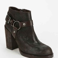 Ash Falcon Heeled Ankle Boot- Chocolate