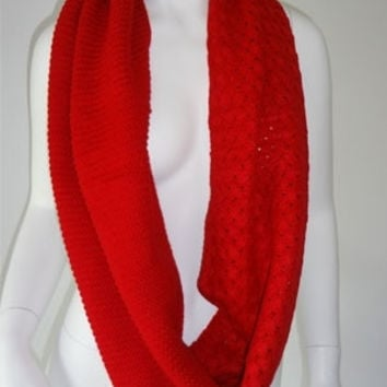 Female Red Scarf