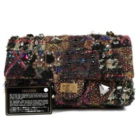 Chanel Tweed Multimedia Flap Bag- Runway