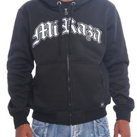Mi Raza Zip Up Fleece Hoodie
