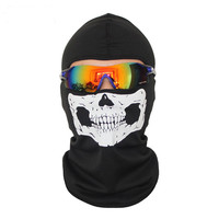 2pcs motorcycle helmet face mask ski bandana skull mask snowboard cycling mascara moto bike mask windproof halloween black masks