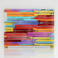Zippers! iPad Case by Raven Jumpo