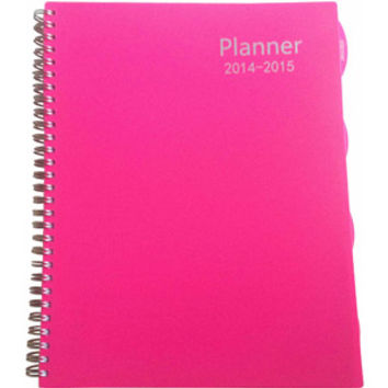 Walmart: Large Basic Planner, Available in Multiple Colors