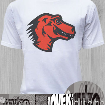 dinosaurs mozilla TShirt Tee Shirts Black and White For Men and Women Unisex Size