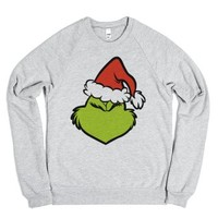 Have Yourself a Grinchy Little Christmas-Heather Grey Sweatshirt