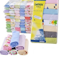 8Pcs 22.9*22.9cm Thin Baby Kids Children Boy Girl Bath Towel Washcloth Wipe