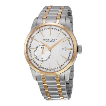 Hamilton Railroad Small Second Silver Dial Two-tone Steel Mens Watch H40525151